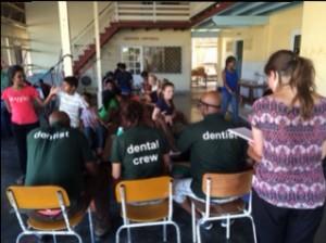 Team aan het werk in Nickerie